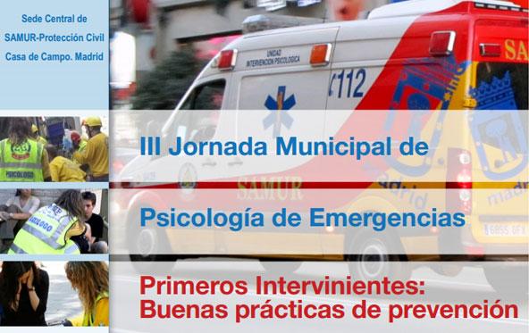 III Jornadas Municipales de Psicología de Emergencias