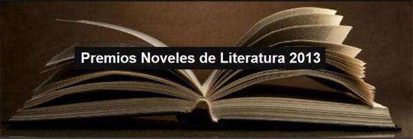 Premios Noveles de Literatura 2013