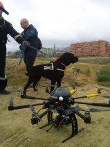 Unidad Canina GEAS y Dron